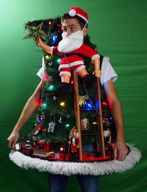 Weihnachtspullover Kunst