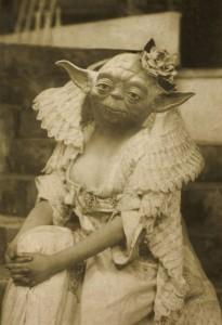 Kunst mit Yoda