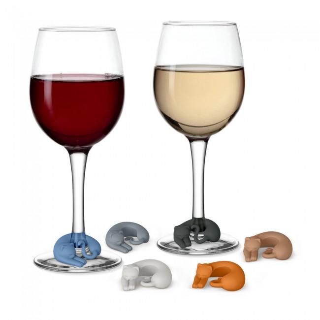 Geschenke für Katzenfreunde Katzen fürs Weinglas