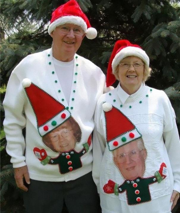 Pärchenpullover für Weihnachten