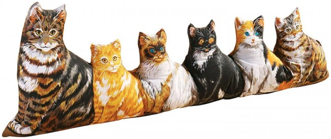 Türstopper mit Katzen schreckliche Geschenke für Katzenliebhaber und Omis