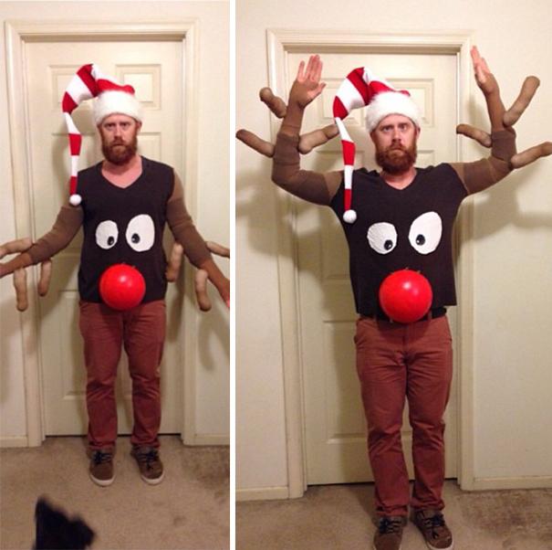 Rudolf das Rentier als Pullover