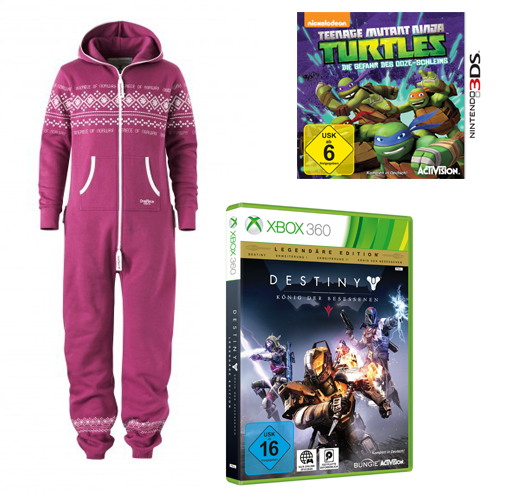 Onepiece, Teenage Mutant Ninja Turtles, Destiny
