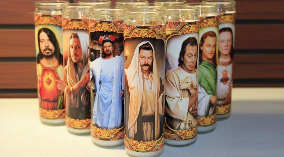 Pop-Kultur Kerzen