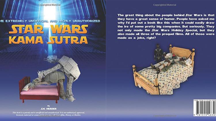 Star Wars Kamasutra Buch