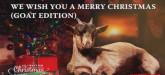 Ziegen singen Weihnachtslieder