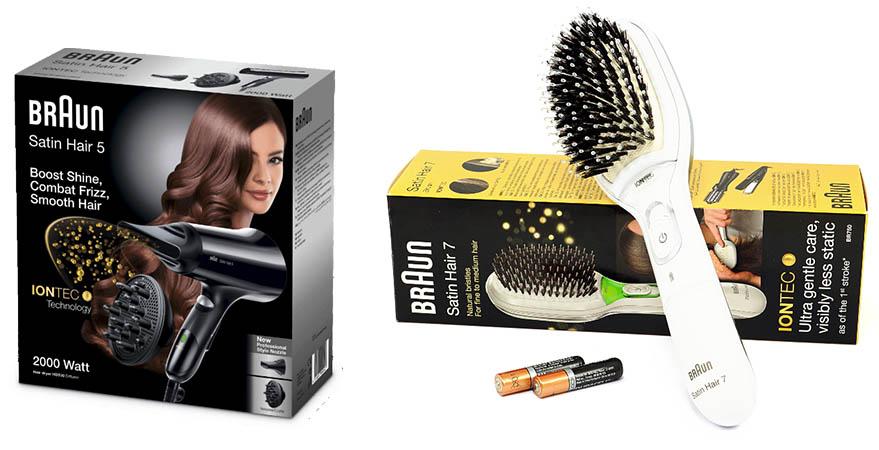 SLEAZE Adventskalender tag 3 Braun haarbürste Haartrockner