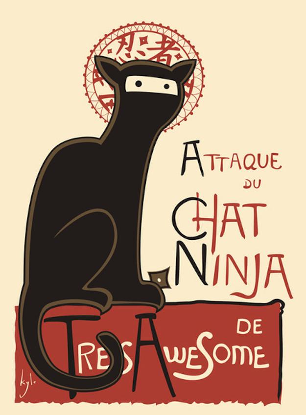 le chat ninja geschenkideen für tierliebhaber