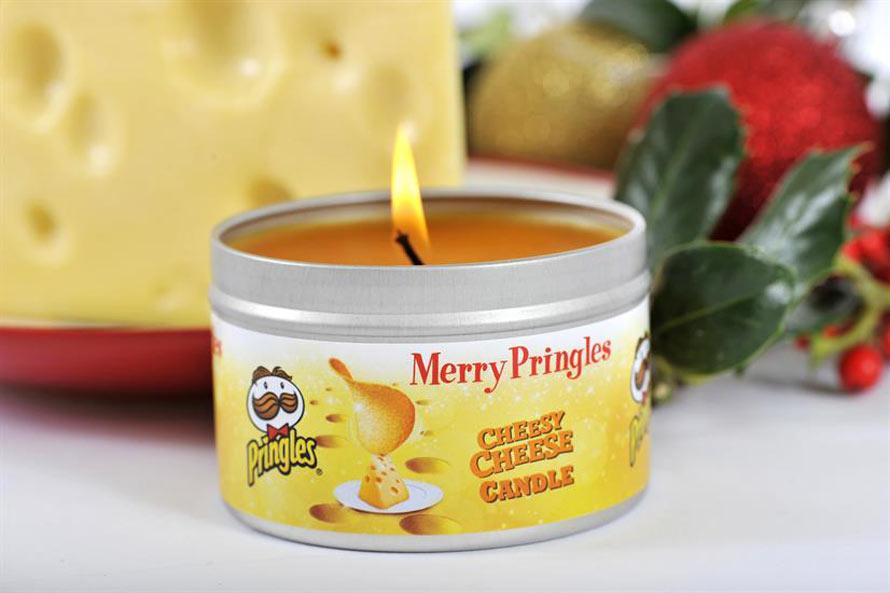 pringles-duftkerzen duftkerze mit käsegeruch
