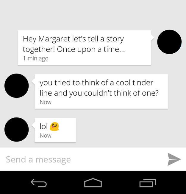 versagt bei Tinder