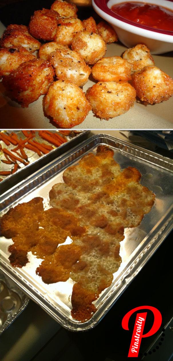 Küchenfails Käsebällchen