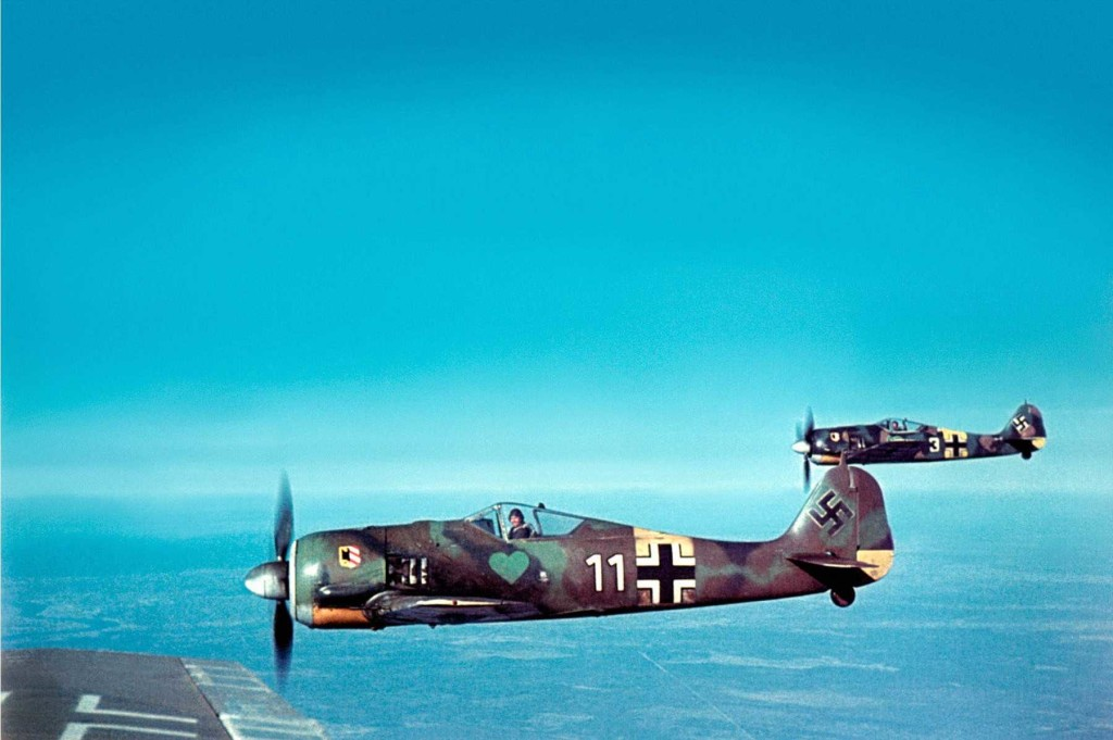 focke_wulf in flight