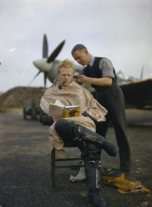 haircut royal air force pilot