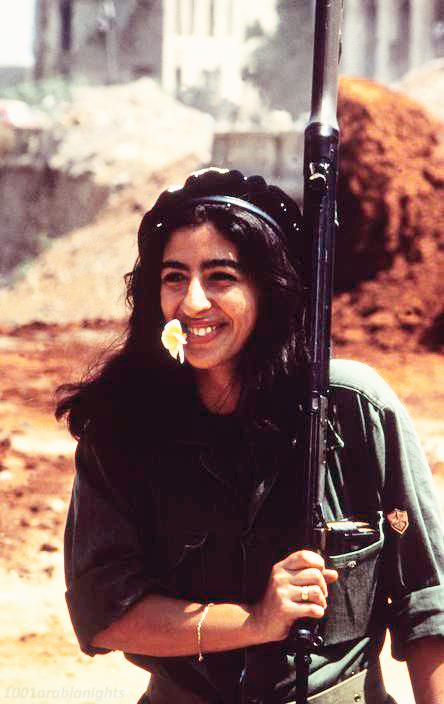 lebanon female soldier 1982