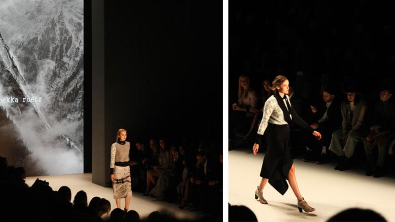 Rebekka Ruétz Fashionshow MBFW Berlin Fashion Week 2016