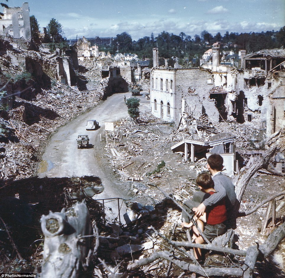 St. Lo 1944 world war 2