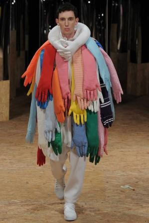 Mode für Männer auf Laufstegen