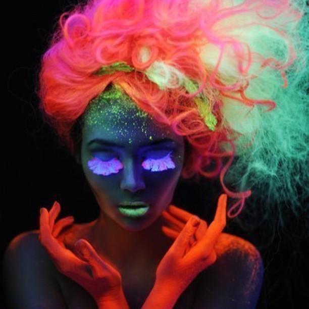 haarfarbe die im dunkeln leuchtet