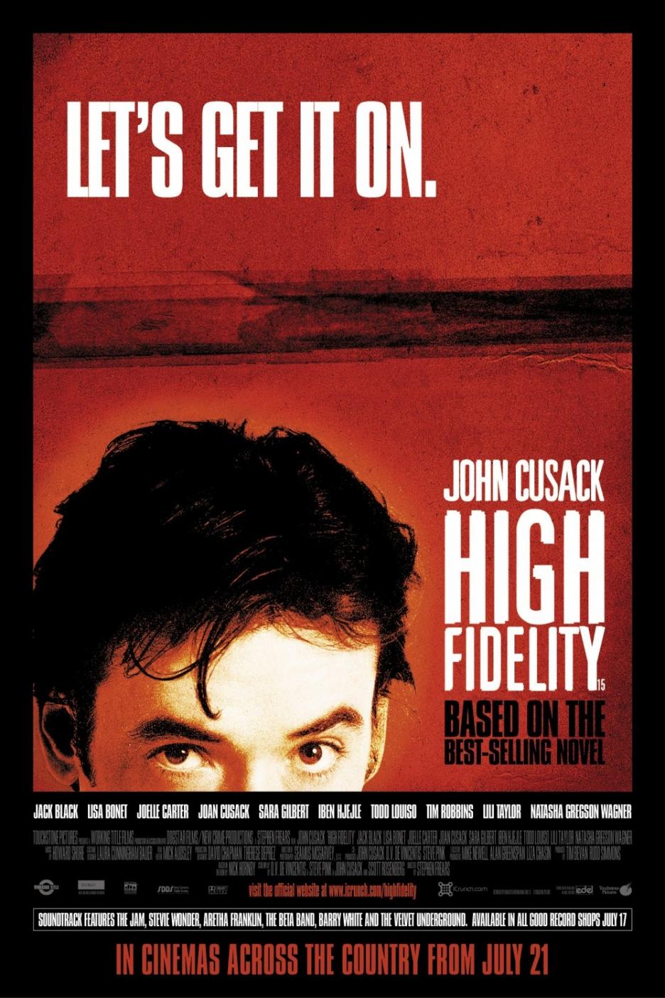 10 Filme für Verliebte high fidelity