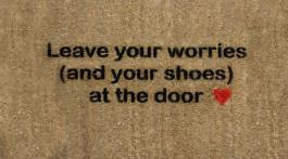 keine Schuhe in der Wohnung