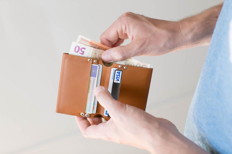 Wonder & Question geldbörse braun