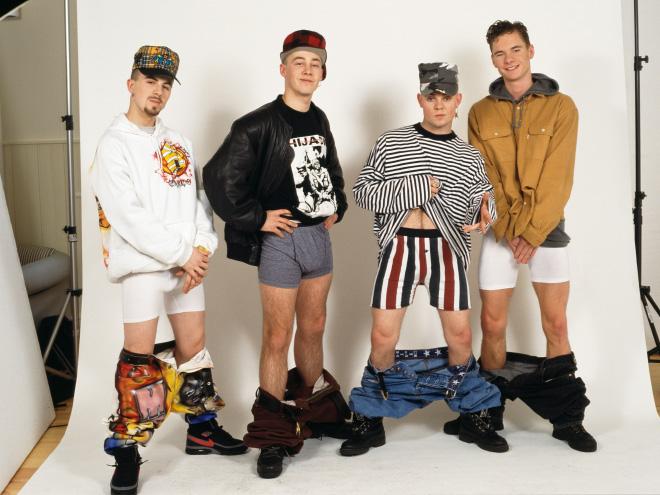 promofotos boybands peinlich