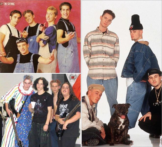 peinliche bandfotos boygroups