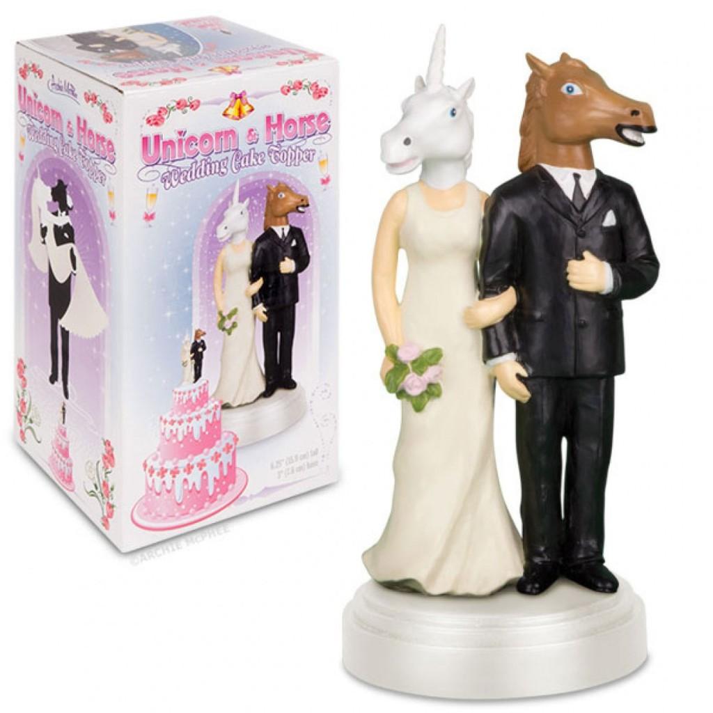 hochzeitsgeschenk tortenfigur einhorn pferd