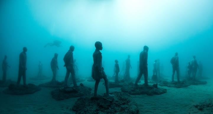 jason decaires taylor unterwassermuseum