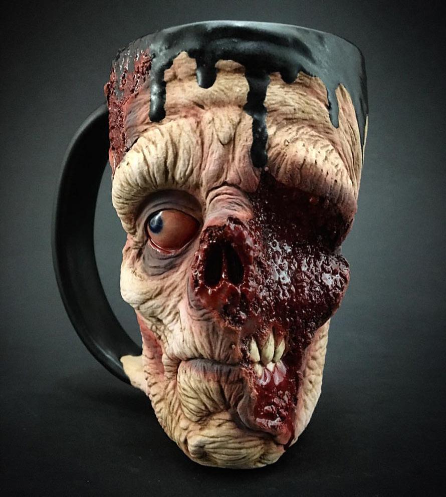 Realistische Zombie Tassen