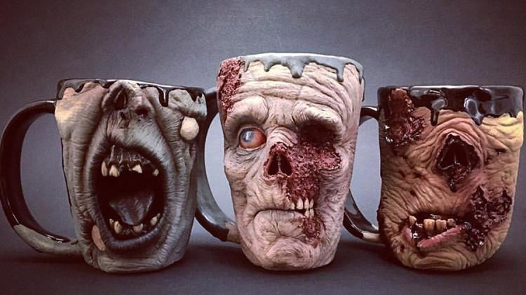 realistische Zombie-Tassen Kevin Merck