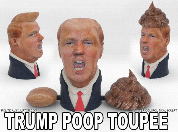 Fernando Sosa Donald Trump Toupet Kackhaufen