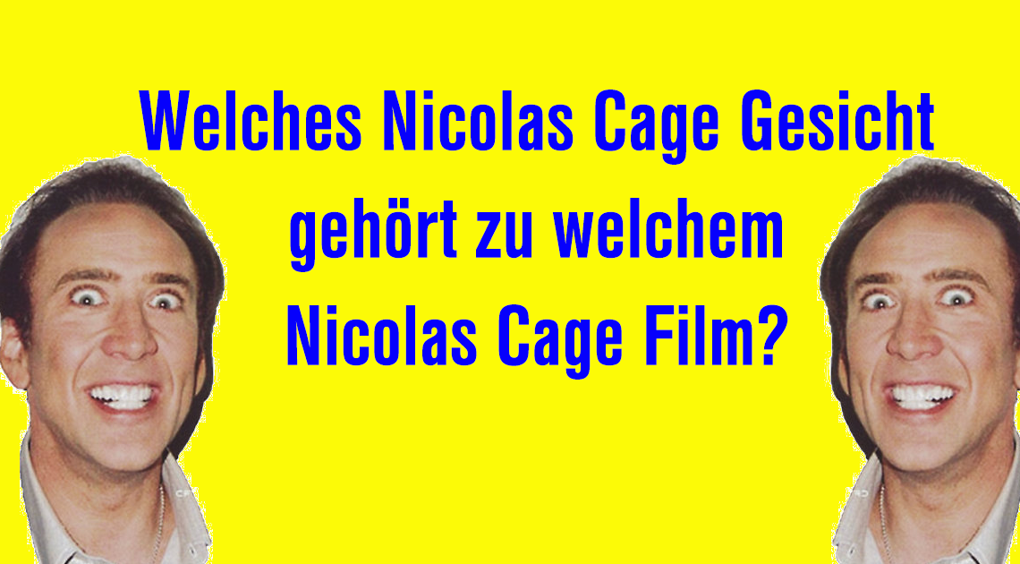 Nicolas Cage Gesicht slider Quiz