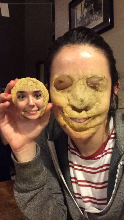 lustiges face swap auf snapchat cookie