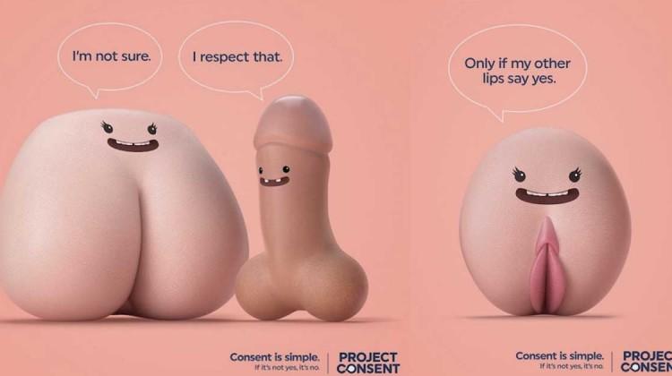 tanzende genitalien project consent