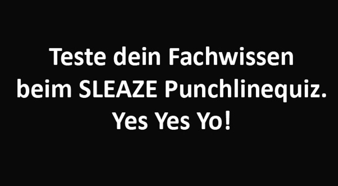 Punchlinequiz deutschrap sleaze