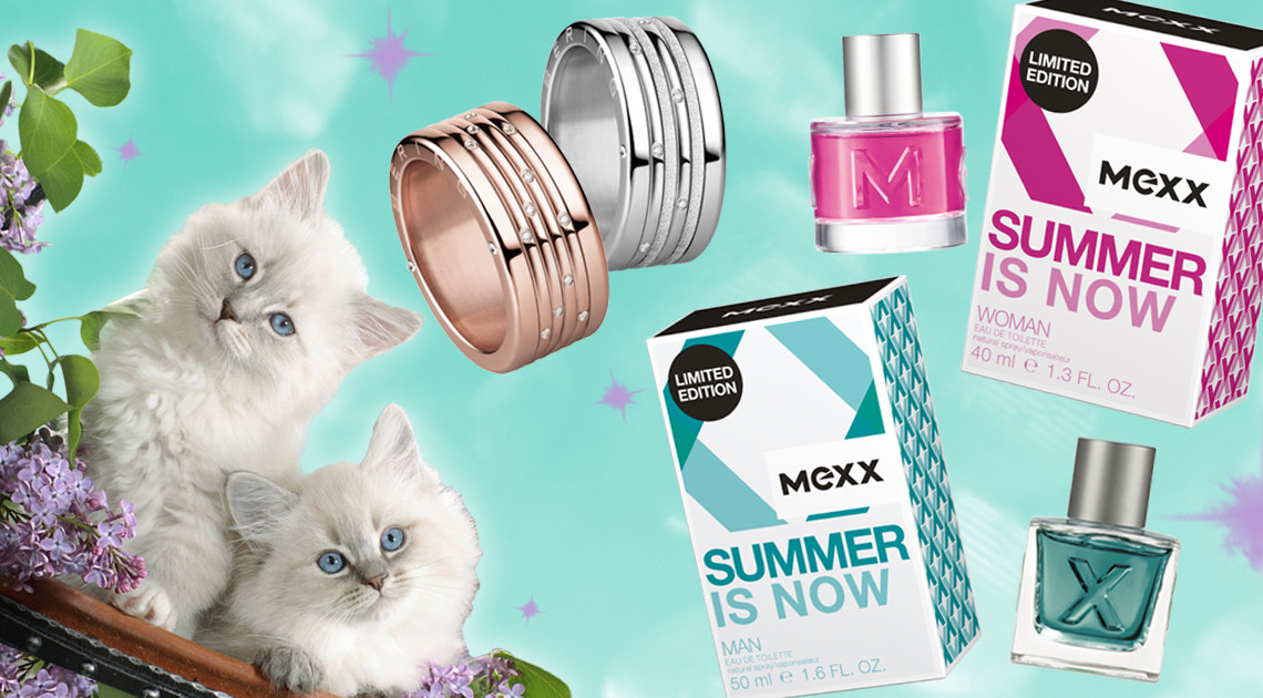 Ringe von Bering Parfums von mexx gewinnen Frauentagsverlosung SLEAZE