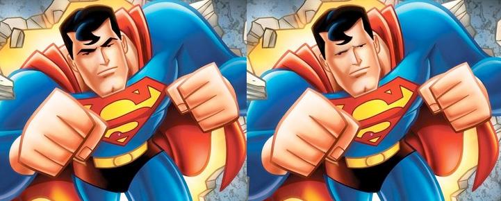superman ohne augenbrauen