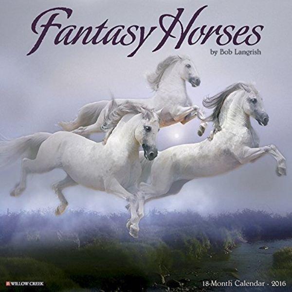 Seltsame Kalender horses 2016