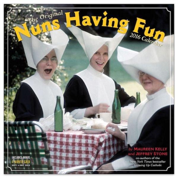 Seltsame Kalender nuns 2016