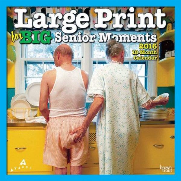 Seltsame Kalender senior 2016