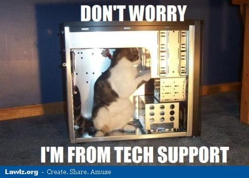 lawlz.org tech support meme ist mein computer an? test