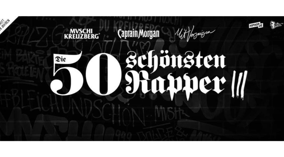 DIE 50 SCHÖNSTEN RAPPER #3 slider berlin