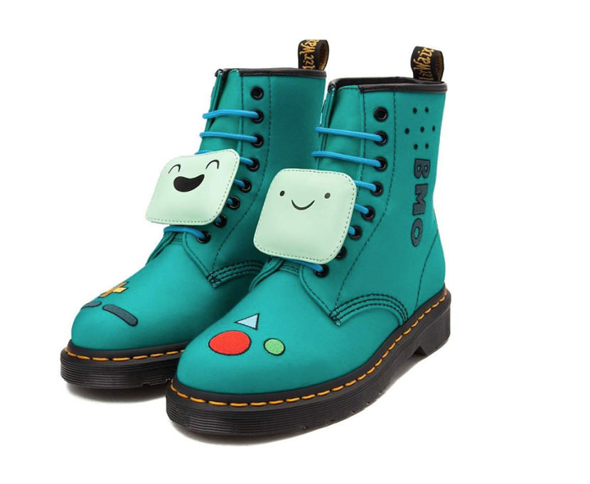 Dr Martens Adventure Time bmo konsole