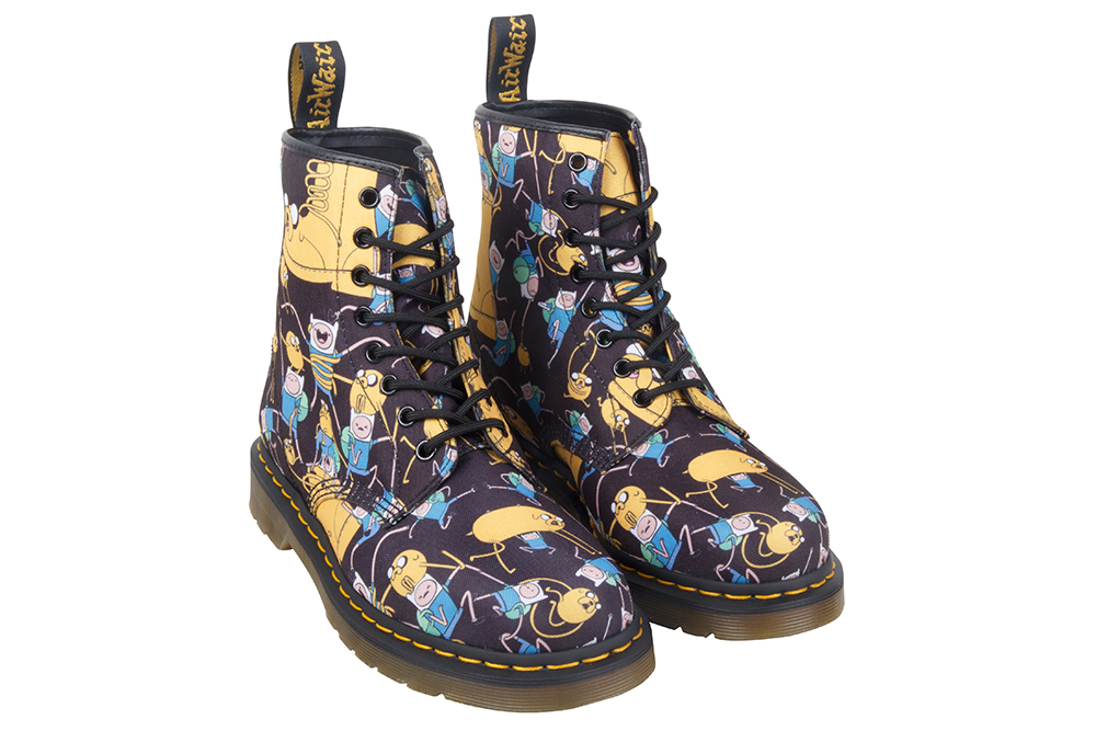 Dr Martens Adventure Time mash finn jake