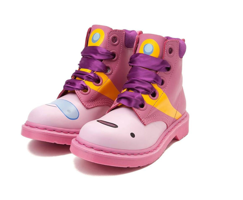 Dr Martens Adventure Time princess bubblegum pink