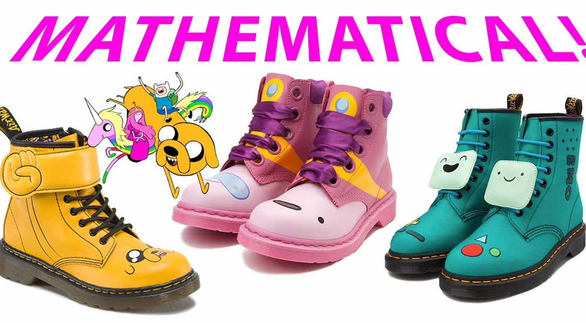 dr martens adventure time mathematical slider