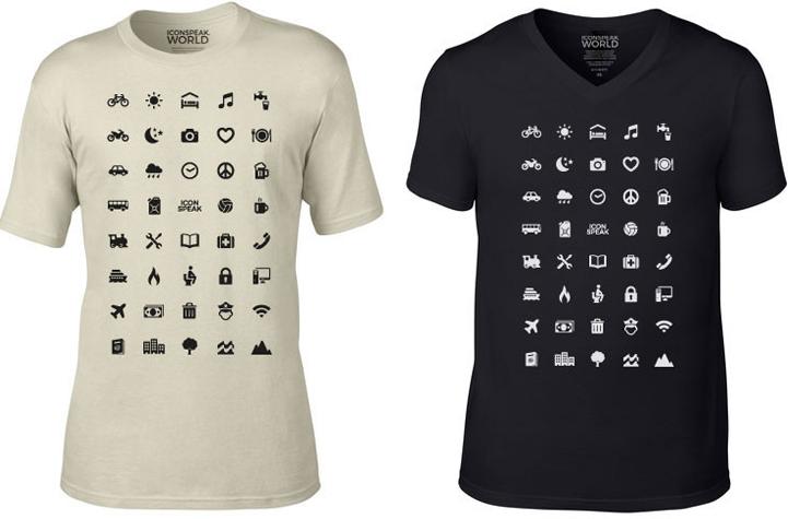 shirt für reisende iconspeak