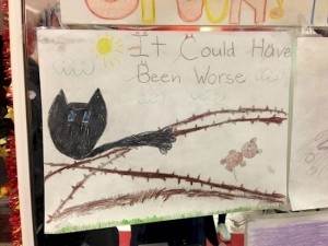 Beunruhigende Kinderzeichnungen