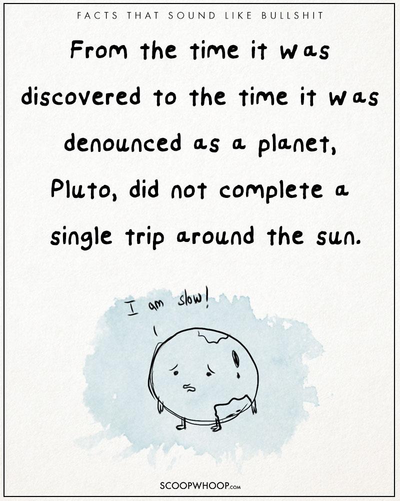 pluto planet fakt